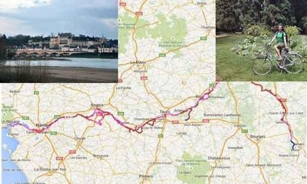 Touring Loire Valley by bike peaceful and fun