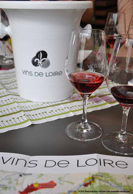 Loire Valley Wine Tasting delicious reds