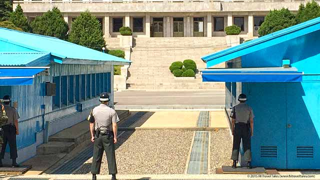 DMZ tour Korea: Wear shoes you can run in