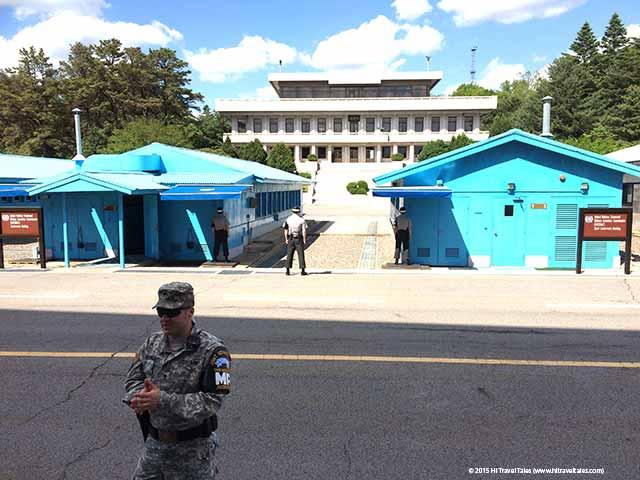 DMZ tour Korea do not point.