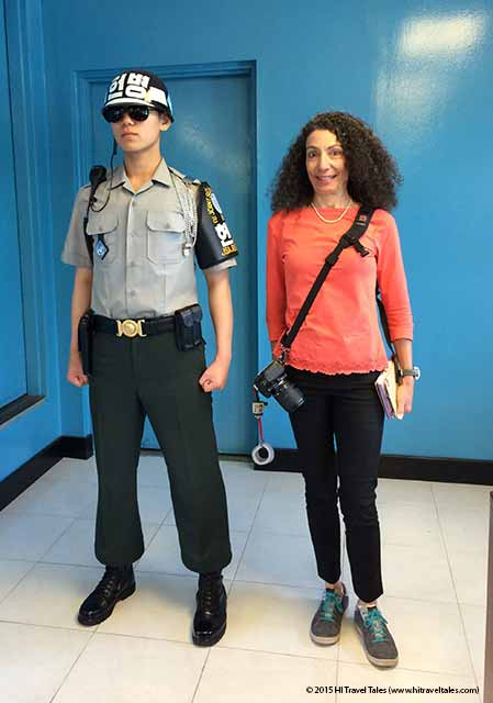 DMZ tour do not stand too close to the guard.