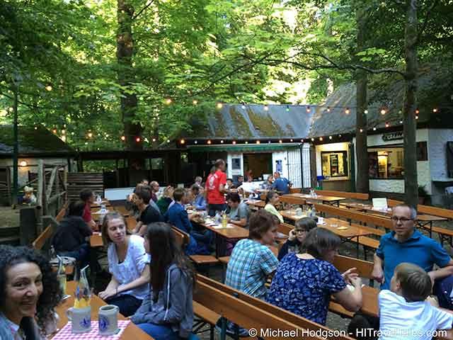 Kellerwald Forchheim Eichhorn Beer Garden