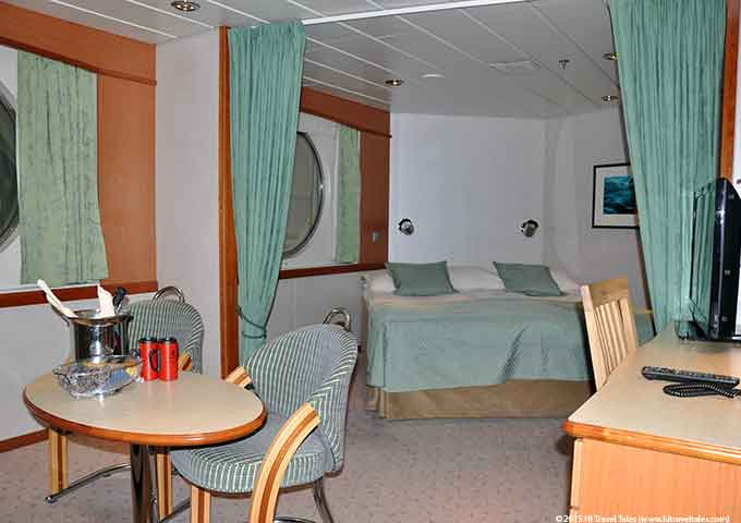 Hurtigruten MG Mini Suite Cabin