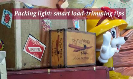 Packing light: smart load-trimming tips