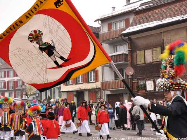 Carnival Parades Alstatten parade flag