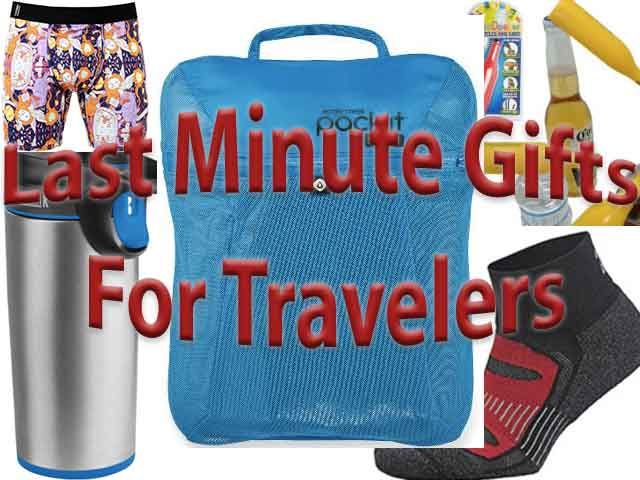 Six last-minute gifts for travelers