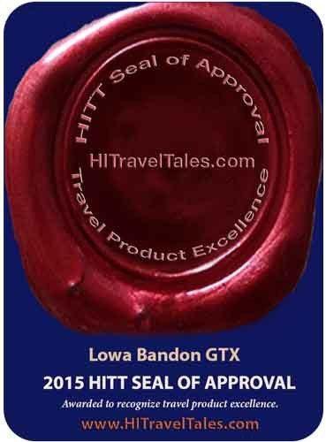 HITT Seal of Approval for Lowa Bandon GTX