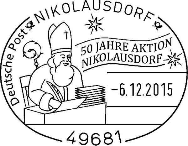 Letters to Santa Nikolausdorf postmark