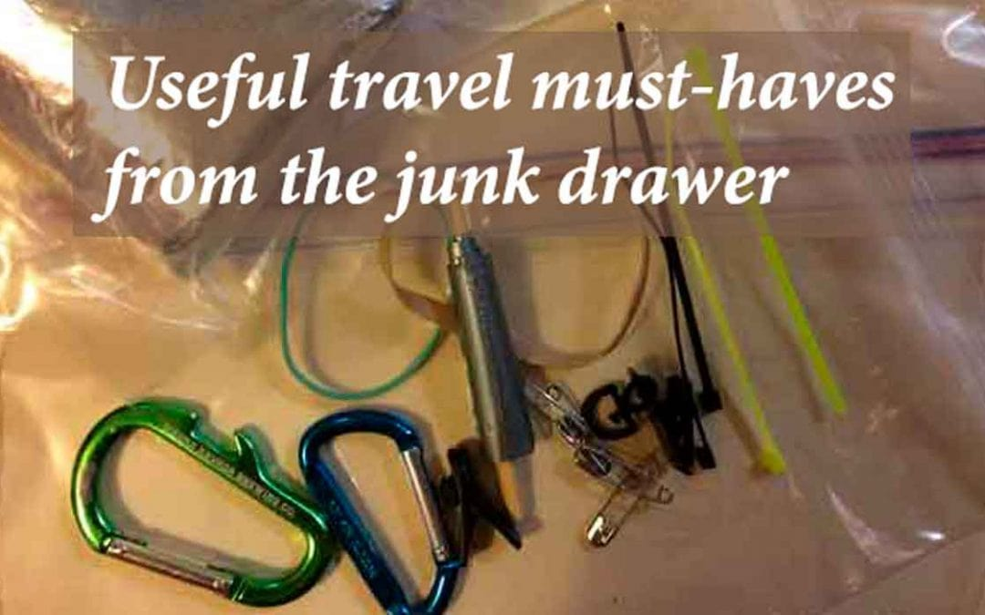 Useful travel must-haves from the junk drawer