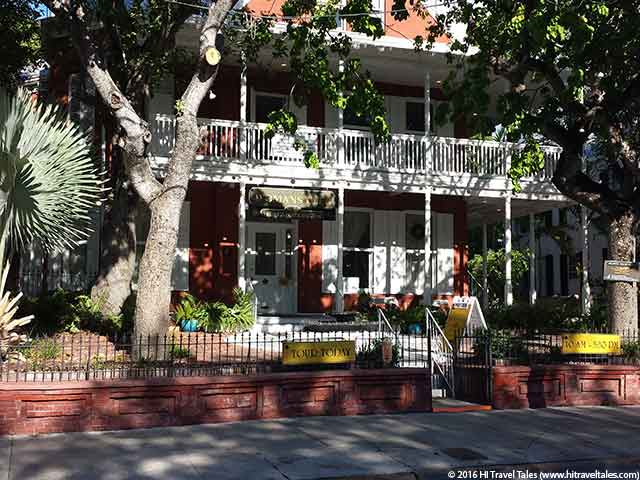 Historic Womens Club one of 4 Free Things to do in Key West