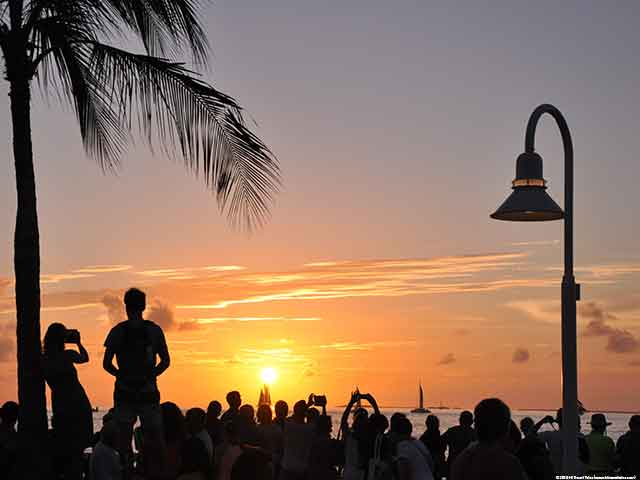 Free Things to do in Key West - Sunset at Mallory Square