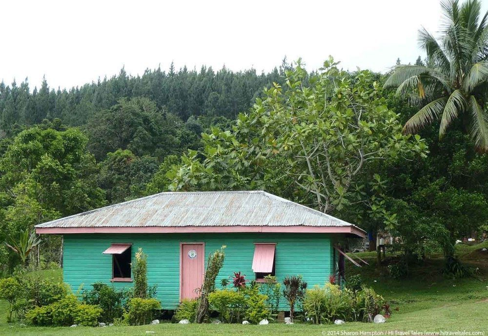 Abaca Town in Koroyanitu National Heritage Park.