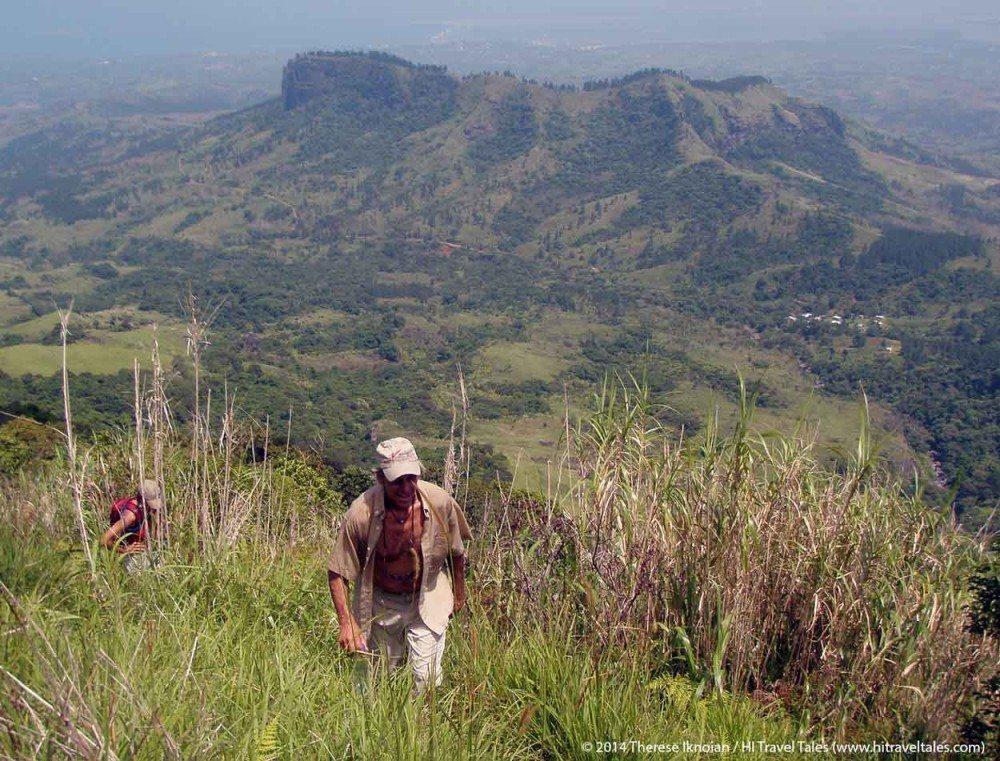 Koroyanitu National Heritage Park hike to Mt Batilamu