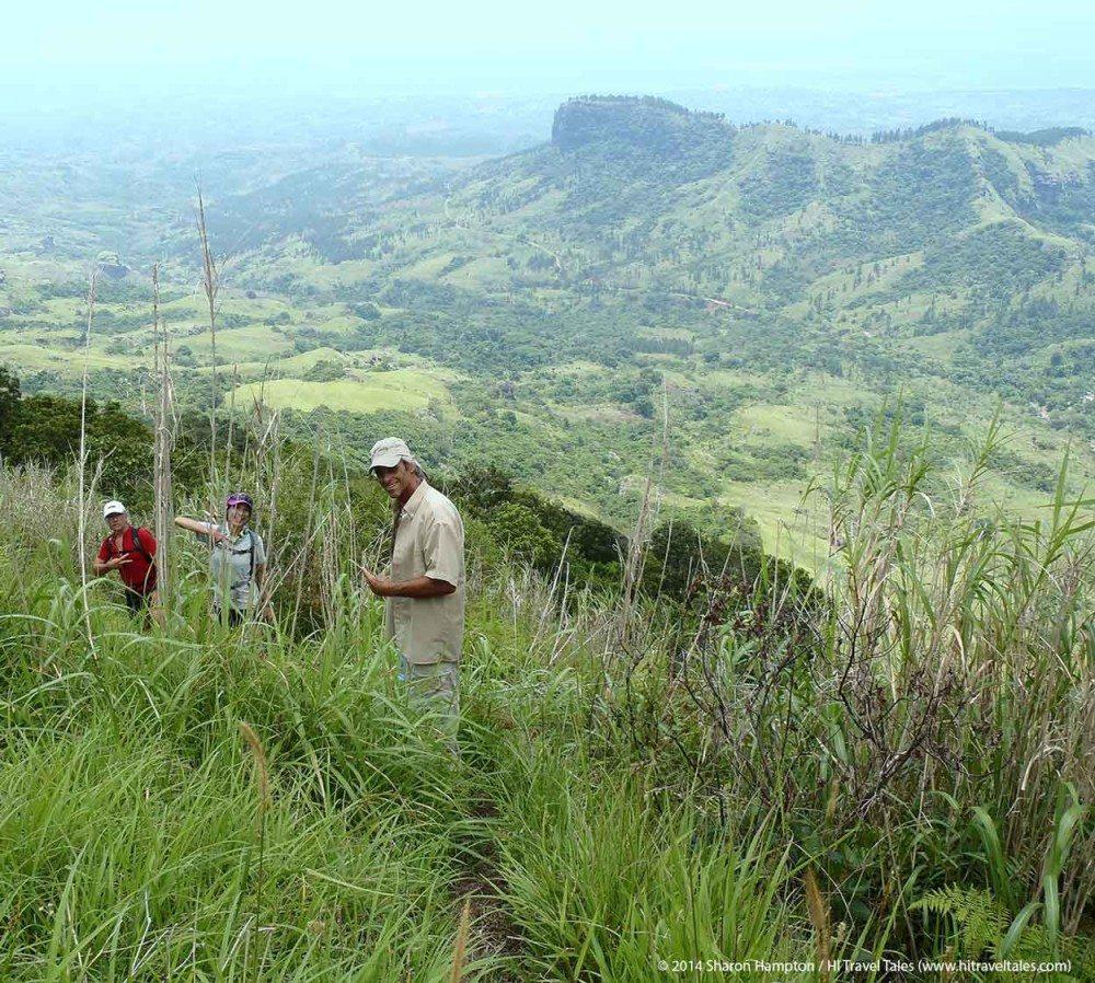 Batilamu track across open grasslands in Koroyanitu