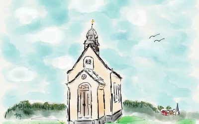 iPad Art: Watercolors From Michael's Travel Journal