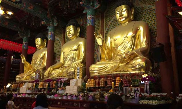Celebrating Buddha's birthday festival in Seoul a highlight