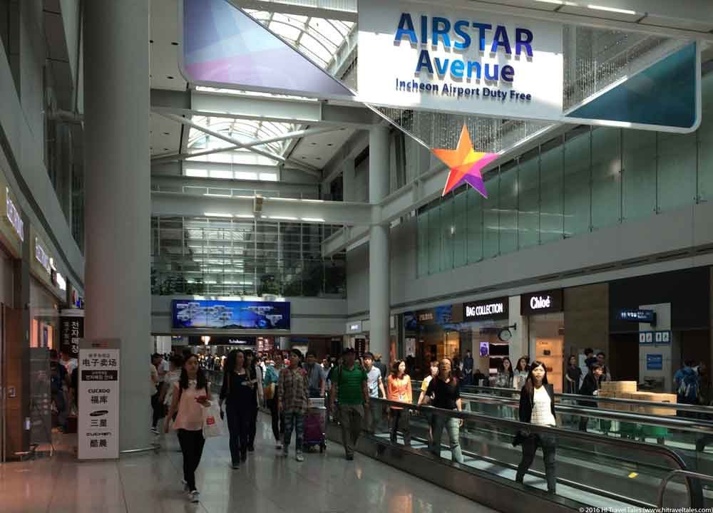 Seoul's Incheon Airport inside