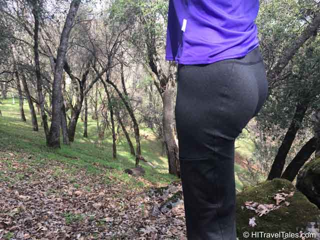 Stonewear Designs Rockin pants review showing pocket