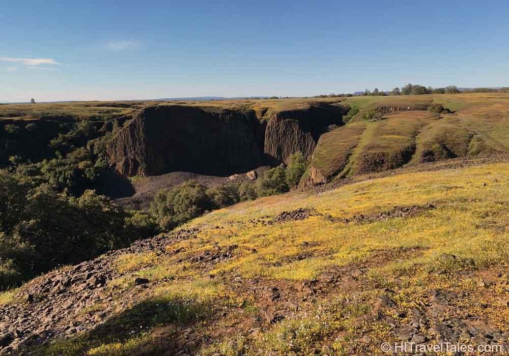 Table Mountain preserve looking toward Coal Canyon and Phantom Falls.