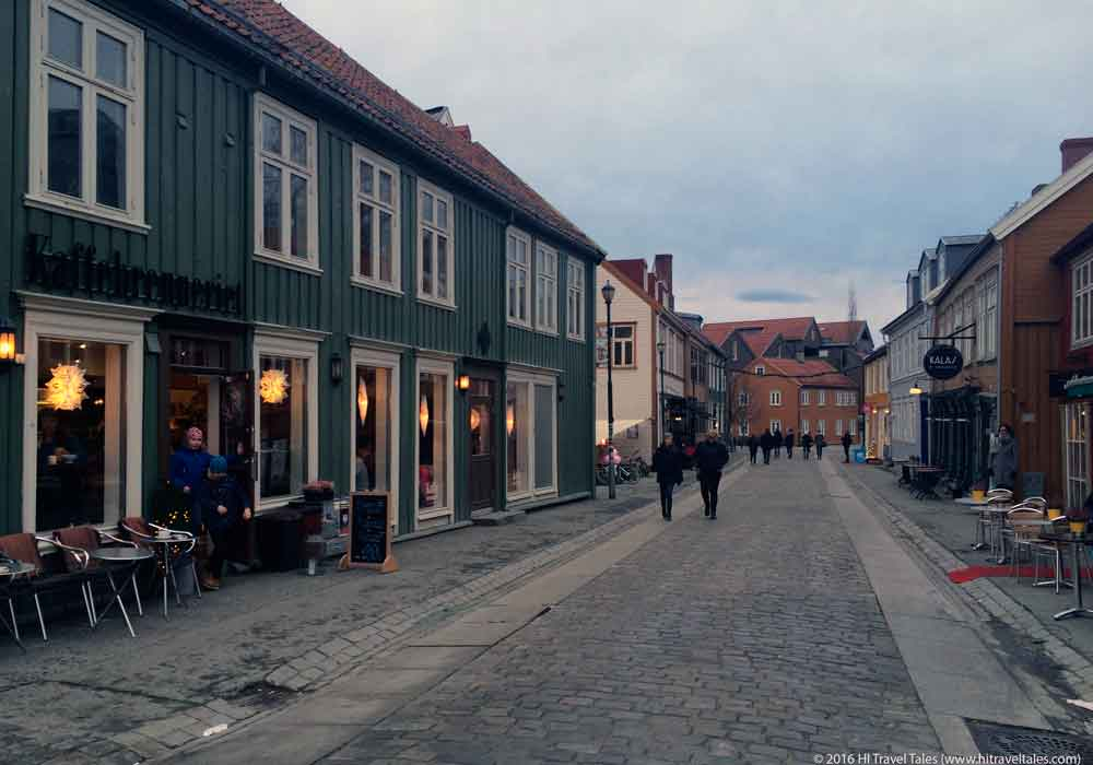 Visit Trondheim and enjoy Bakklandet.