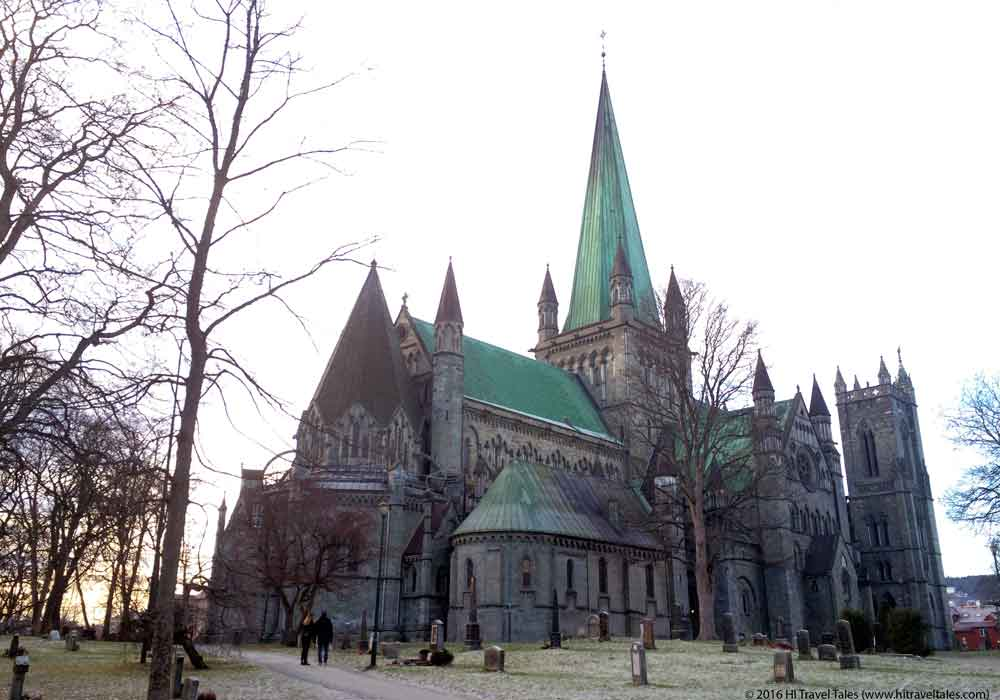 Visit Trondheim and view the Nidaros Cathedral.