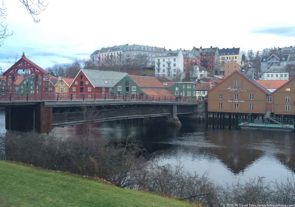 Trondheim Old Town Bridge