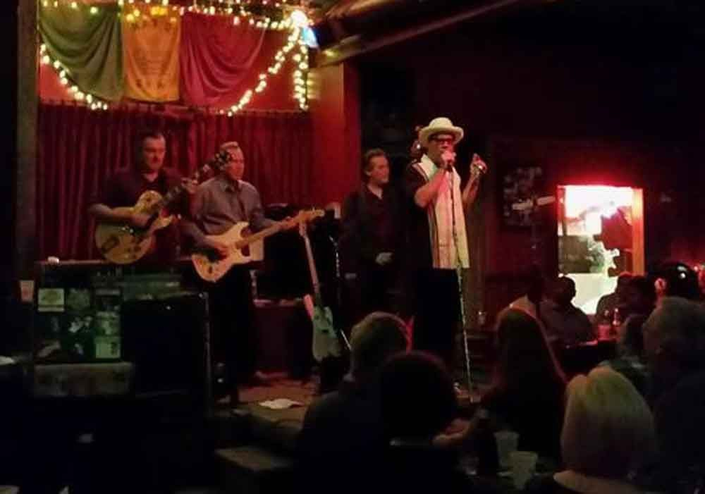 My traveling blues a life on the road playing at Blind Willies Blues Club.