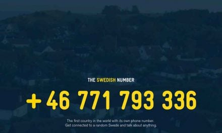 Calling Sweden. Talking to a 'random Swede'