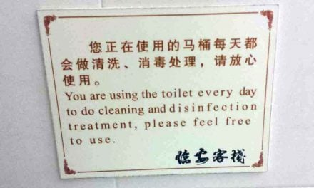Lost in Translation: Funny Chinese instructions in hotels