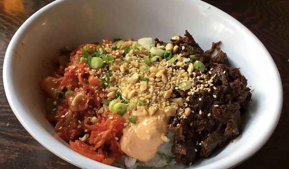 The World Street Kitchen Yum Yum bowl.