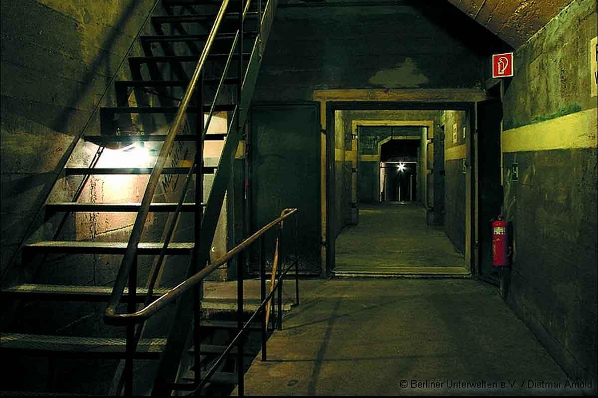 Berlin Underground tours tunnels underground.