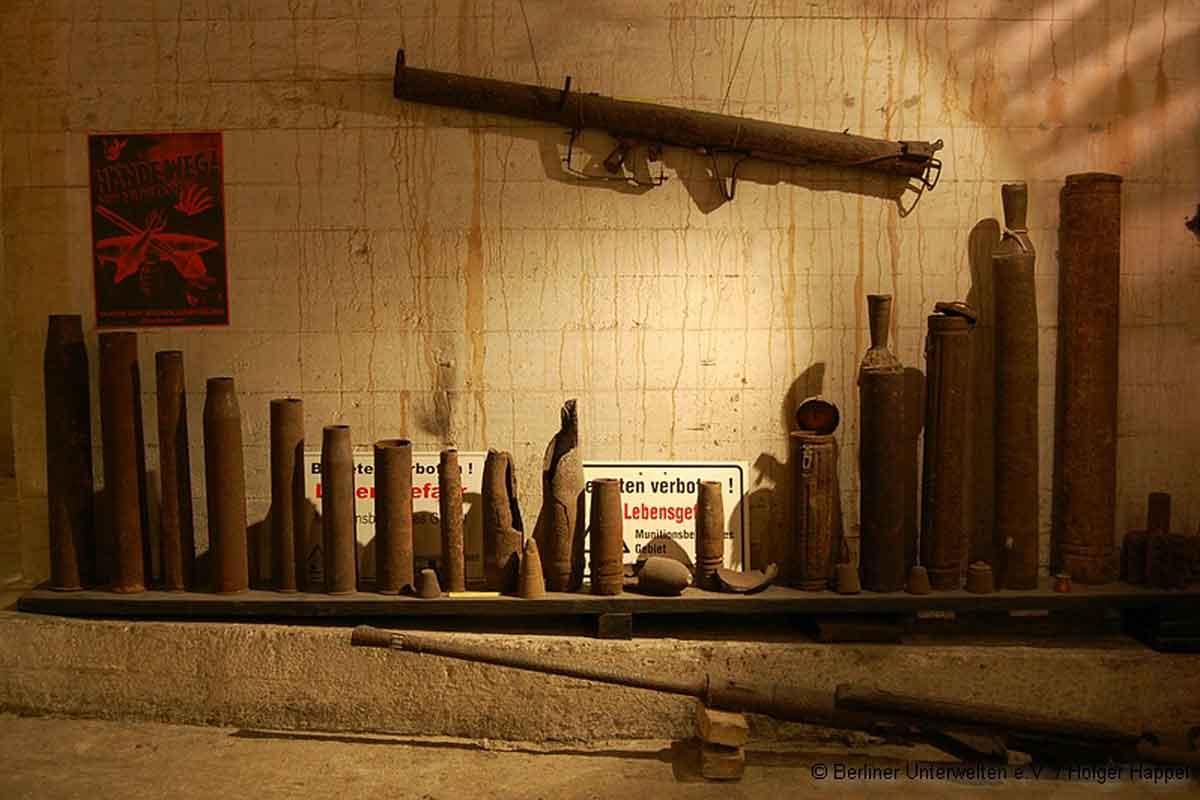 Berlin underground bomb are still unexploded.