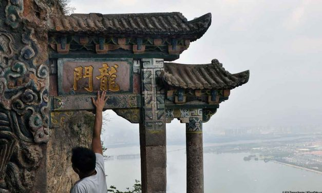 Visit Dragon Gate in Western Hills Xishan Park outside Kunming