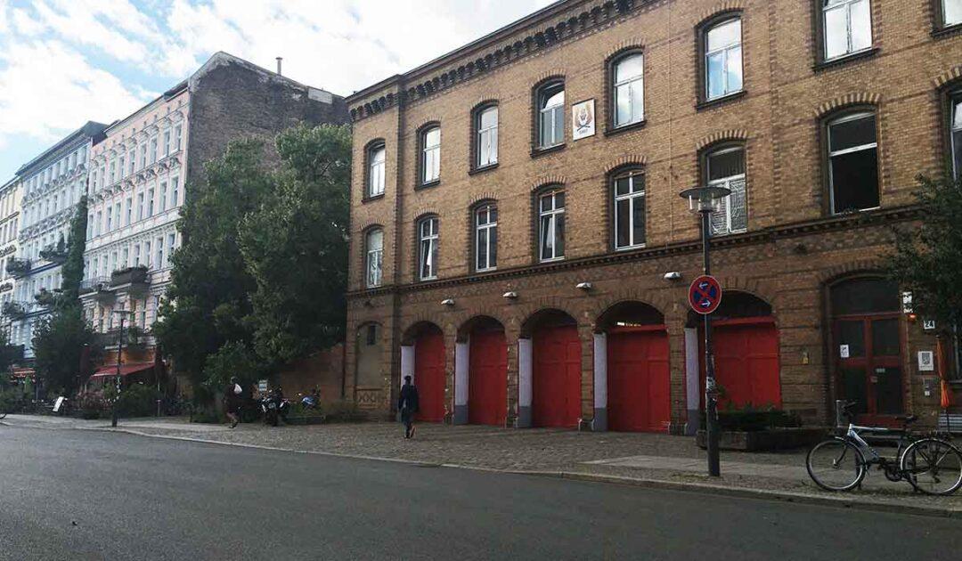 Oldest operating firehouse in Berlin is in Prenzlauer Berg