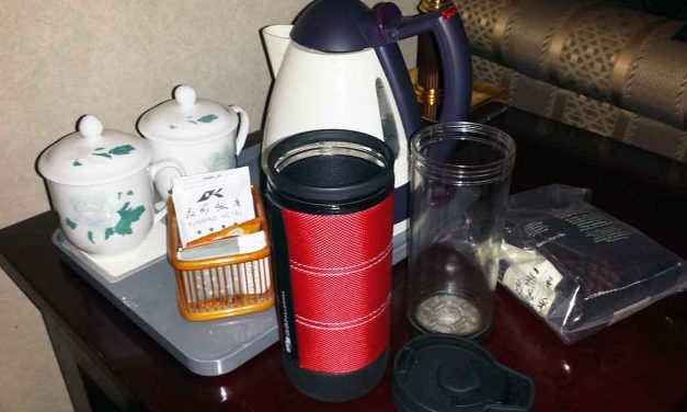 GSI Commuter Javapress travel coffee mug