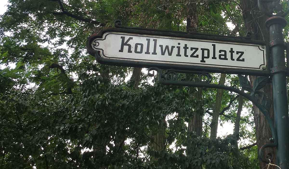 Prenzlauer Berg Travel Guide Kollwitzplatz street sign