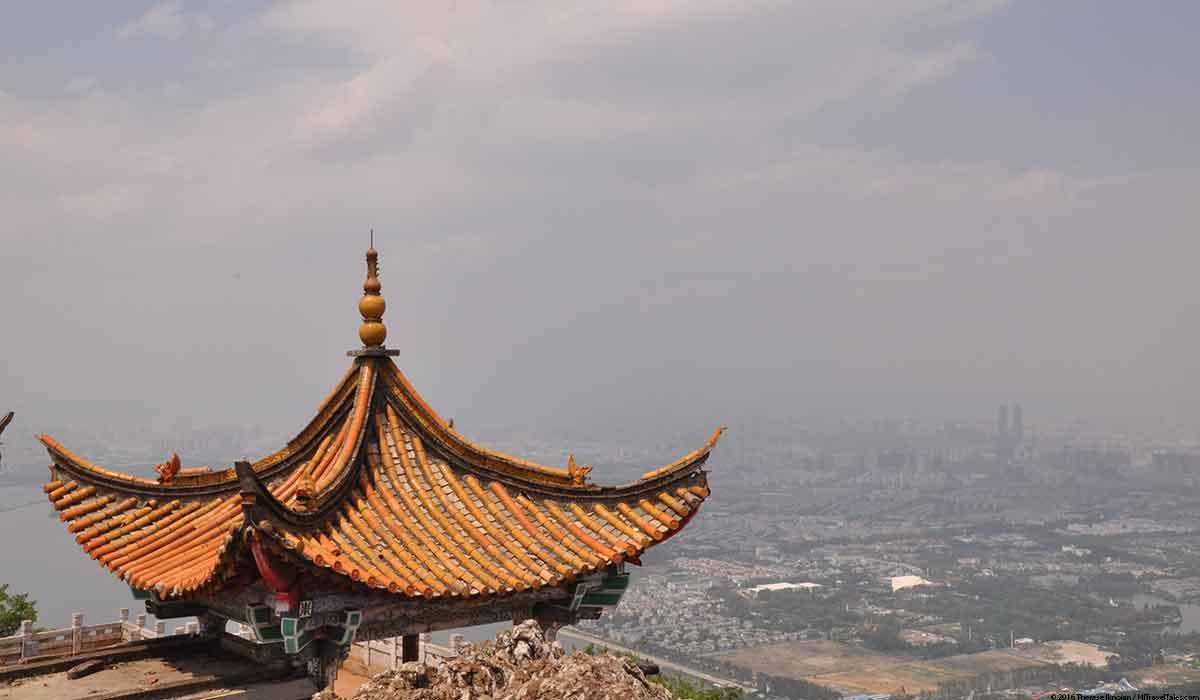 Lingxu Pavilion in Western Hills Xishan Park