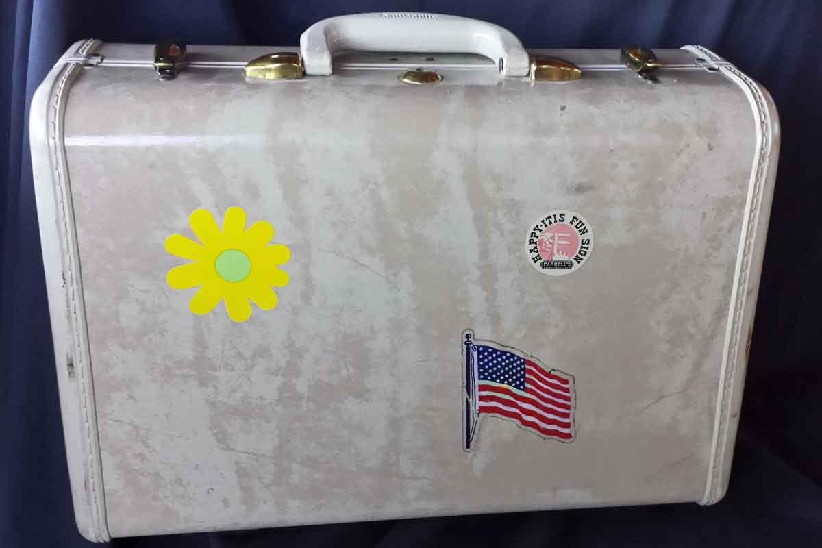 Travel planning checklist hard luggage