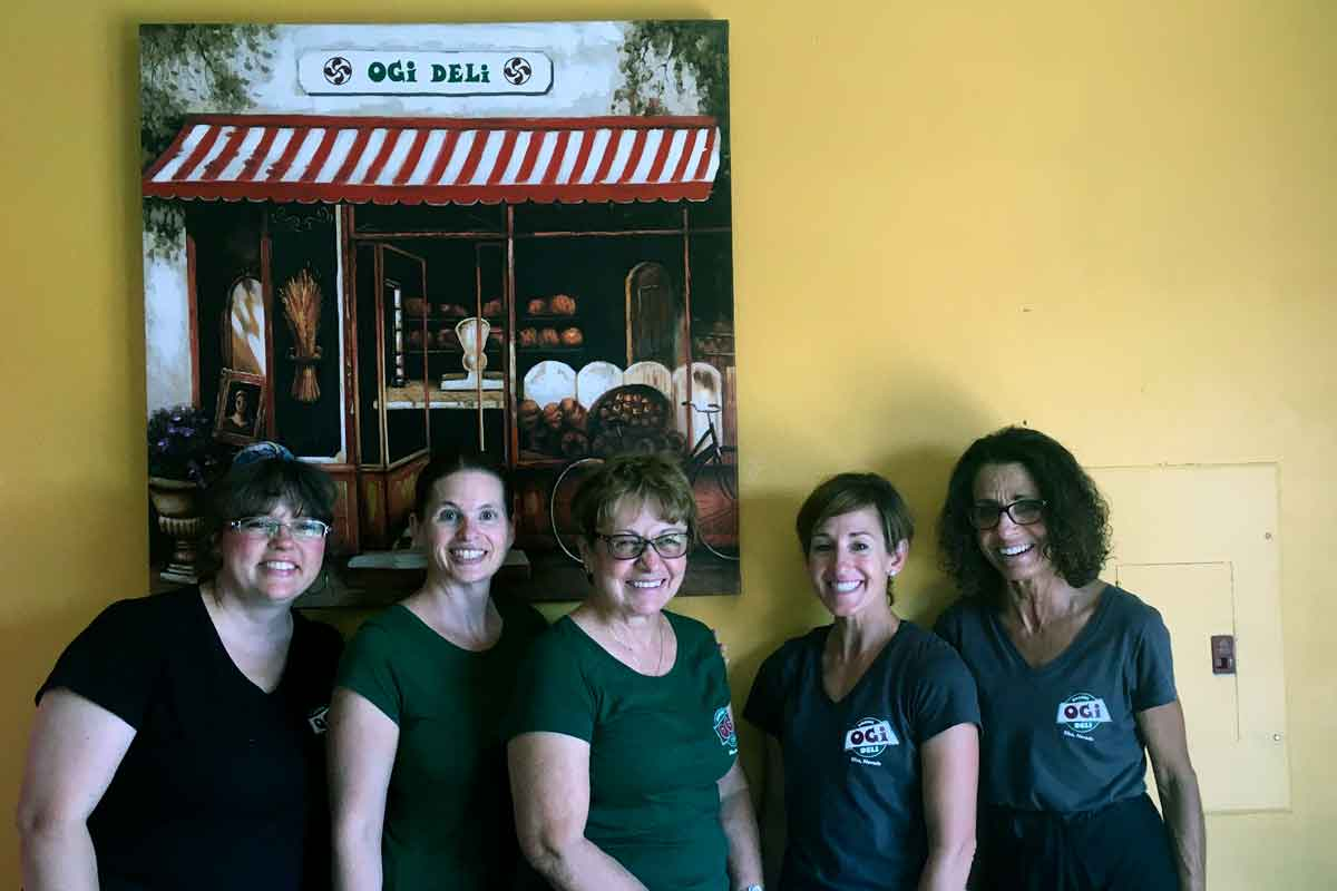 OGI Deli team in 2016