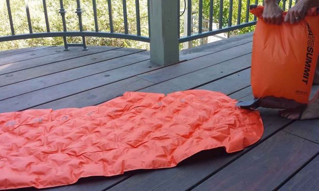 Sea to Summit UltraLight Insulated Mat a comfy travel solution