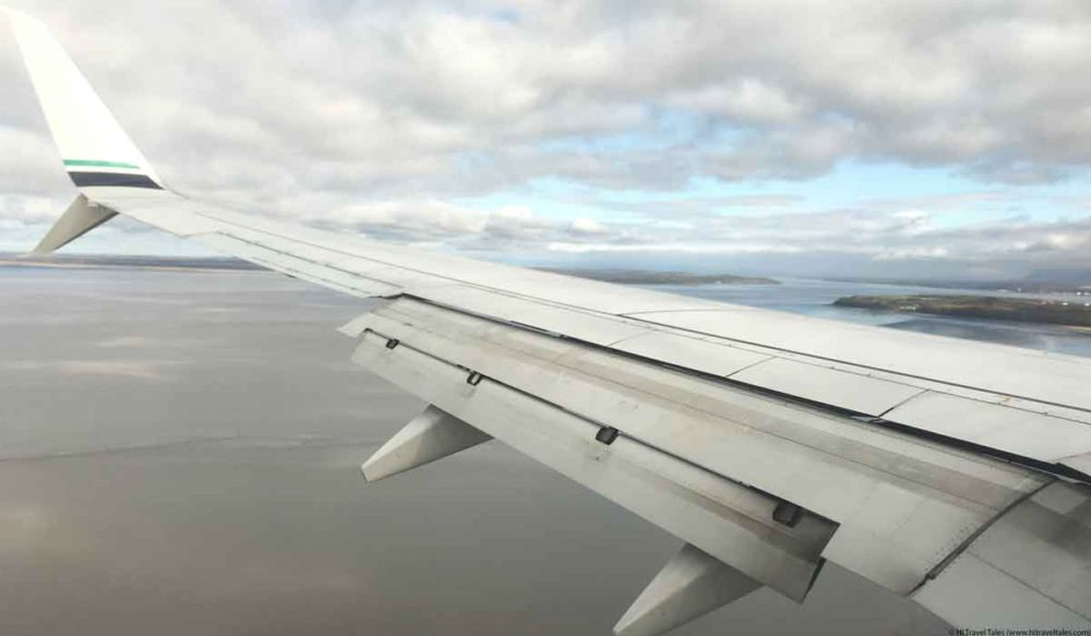 Airplanes make a lot of unfamiliar noises which can add to a fear of flying.