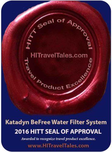 Katadyn BeFree HITT Seal of Approval