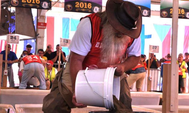 Panning for gold a pursuit with world championships