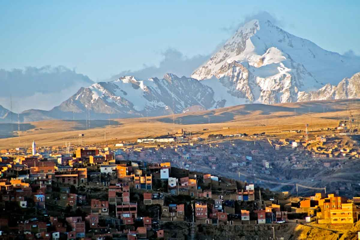 Travel to Bolivia you must see La Paz.