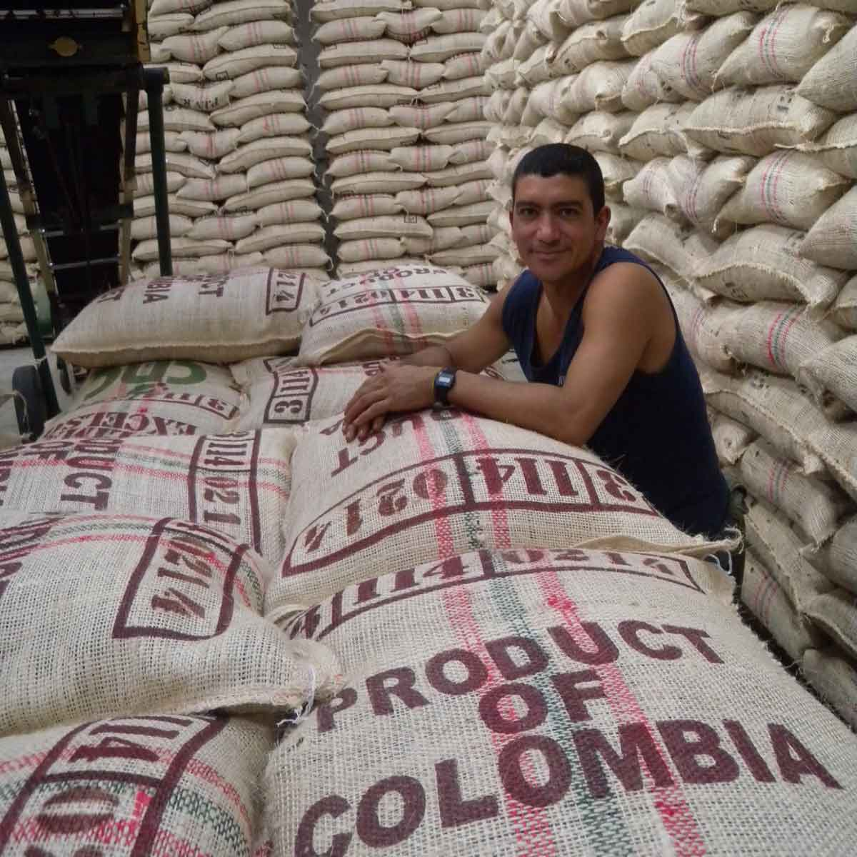 Colombia is well known for coffee.