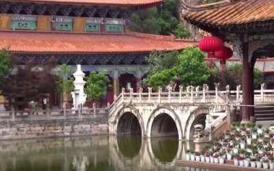 Experience tranquility inside the Yuantong Temple of Kunming