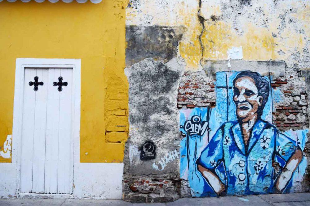 Cartagena murals.