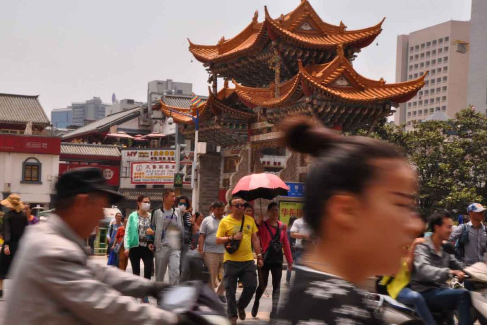 Jinbi Arches are one of the top 6 things to do in kunming