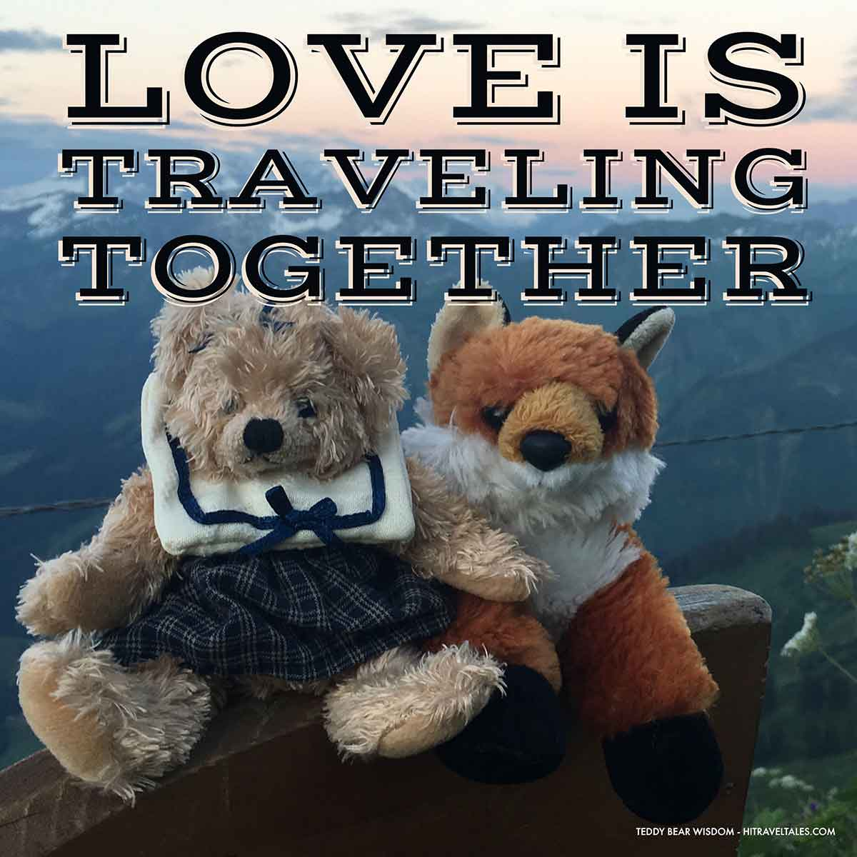 Love Is Traveling Together