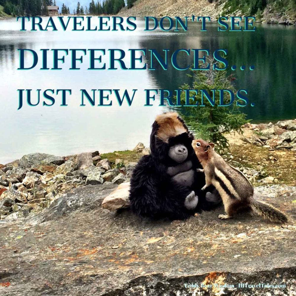 Travelers don't see differences